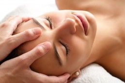 Facial massage by Skin Therapy with Betty